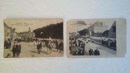 CPA - Montjean - Lot De 2 Cartes - ..Fête De Jeanne D'Arc 1910 Jeanne Et Ses Chevaliers - Jeanne Et Le Clergé - Altri Comuni