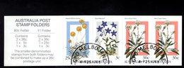 909021892 1986  SCOTT 996B  FIRST DAY CANCEL -  BOOKLET PANE ALPINE WILDFLOWERS - 1980-89 Elizabeth II