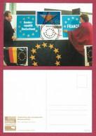 BRD  1992  Mi.Nr. 1644 , EUROPA CEPT - Sympathie Mitläufer - Maximum Card - First Day  05.11.1992 - Europa-CEPT