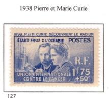 Ex Colonie Française  *  Océanie *  Poste    127  N** - Unused Stamps