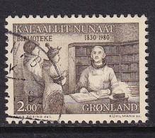 Greenland 1980, Minr 123 Vfu - Oblitérés