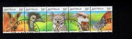 909025990 1986  SCOTT 992  FIRST DAY CANCEL - STRIP WILDLIFE ANIMALS - 1980-89 Elizabeth II