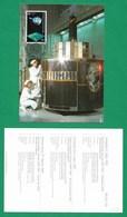 BRD  1991  Mi.Nr. 1527 , EUROPA CEPT - Europäische Weltraumfahrt - Maximum Card - First Day  2.5.1991 - Europa-CEPT