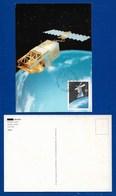 Portugal / Madeira  1991  Mi.Nr. 147 , EUROPA CEPT - Europäische Weltraumfahrt - Maximum Card - First Day  11.4.1991 - Europa-CEPT