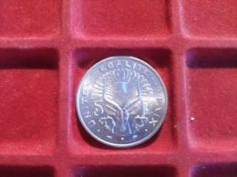 GIBUTI 5 FRANCS 1991 - Gibuti