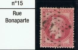 N°32 Etoile 15, Beau Timbre, Belle Frappe - 1863-1870 Napoléon III Lauré
