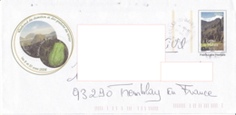 Enveloppe Illustrée, La Réunion 974, WE Du Chouchou Et Des Produits Du Terroir, Salazie, Hell Bourg - Poststempel (Briefe)