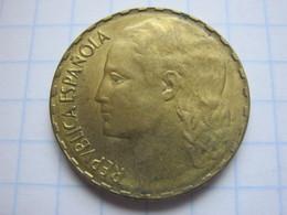 1 Peseta 1937 - [ 2] 1931-1939 : République