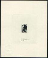N° 2186 1,40 Liberté épreuve D'artiste En Noir - 1982-90 Libertà Di Gandon