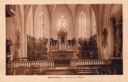 CPA BISCARROSSE - INTERIEUR DE L'EGLISE - Biscarrosse