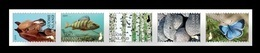 Finland 2019 Mih. 2654/58 Flora And Fauna. Finland Nature Signs (II). Horse. Fishes. Birch Trees. Butterfly MNH ** - Finlandia