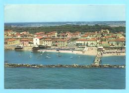 Cartolina Marina Di Pisa. Panorama Dall'aereo. Viaggiata 1972 - Pisa