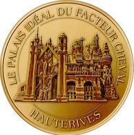26 DRÔME HAUTERIVES FACTEUR CHEVAL N°4 MÉDAILLE SOUVENIR MONNAIE DE PARIS 2014 JETON TOURISTIQUE TOKENS MEDALS COINS - Monnaie De Paris