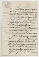 Savoie Granier Montvalezan Sur Bellentre 1821 - Manuscripts