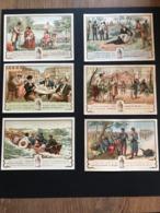 Lot De 6 Chromos Ricqlès Ca 1897 - Cromo