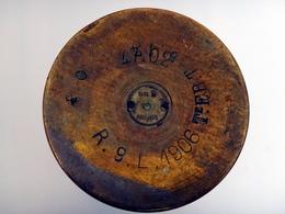Douille D'obus Française De 47mm Modèle 1902 / 47-02 - Inerte - 1914-18