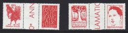 FRANCE Neuf** Série Du Bicentenaire 1792 1992 N° 2772 à 2775 Avec Interpanneaux - France