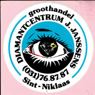 Sticker - DIAMANTCENTRUM J. JANSSENS - SINT NIKLAAS - Stickers