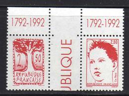 FRANCE Neuf** Série Du Bicentenaire 1792 1992 N° 2772 à 2775 Avec Interpanneaux ET Sigle 1792 1992 - France