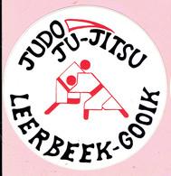 Sticker - Judo - Ju Jitsu - LEERBEEK-GOOIK - Stickers