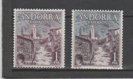 ANDORRA CORREO ESPAÑOL Nº 62 DISTINTO COLOR (S.2) - Nuevos