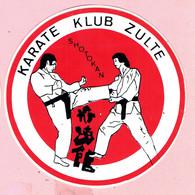 Sticker - KARATE KLUB ZULTE - SHOTOKAN - Stickers