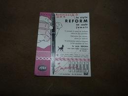 Buvard Stylo Reform 12x15cm - état Voir Scan - Imprimerie Gérard à Gilly - Papeterie
