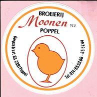 Sticker - BROEIERIJ MOONEN - Poppel - Stickers