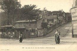 CPA Paris 18e - Rue Des Saules (74017) - Arrondissement: 18