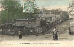 CPA Paris 18e - Rue Des Saules (74273) - Arrondissement: 18