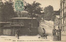 CPA Paris 18e - Rue Des Saules (74282) - Arrondissement: 18
