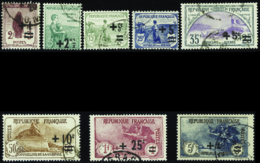 N° 162 /269 Orphelins 8 Valeurs TB  Qualité:OBL Cote: 255 - Used Stamps