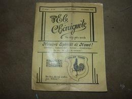Revue En Wallon El Châriguete Patwès D'Charlèrwè Déc 1935 Chatelet Gerpinnes Les Chinels De Fosses La Ville - Libros, Revistas, Cómics