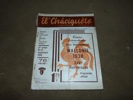 Revue En Wallon El Châriguete Patwès D'Charlèrwè SEp 1938 Chatelet Gerpinnes Les Chinels De Fosses La Ville - Livres, BD, Revues