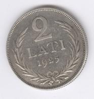 LATVIA 1925: 2 Lati, KM 8 - Lettland