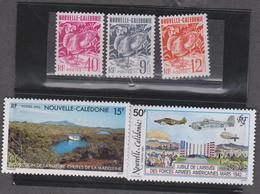 NOUVELLE CALEDONIE Lot 5 T Neufs Xx  Année 1992 N°YT 629 630 633 634 635 - Neukaledonien