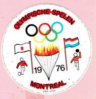 Sticker - OLYMPISCHE SPELEN - 1976 - MONTREAL - Stickers
