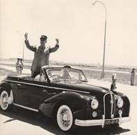 Très Rare Véritable Photos Ancienne 15 X 15 Général De Gaulle , Massu Visite Du 4 Juin 1958 Alger - Guerre, Militaire