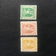 Schweiz 1907 Zumstein-Nr. 101-102 * Ungebraucht Mit Falz Und 103 ** Postfrisch Unten Angeschnitten/Abarte!? - Suisse