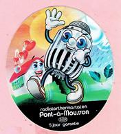 Sticker - Radiatorthermostaten - Pont-à-Mousson - S.A.R - Stempel M.WILLEMS-DIELS Vaartstraat Balen - Stickers