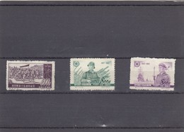 CHINA  STAMPS *  1952 - Neufs