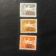 Schweiz 1920/21 Zumstein-Nr. 146-148II * Ungebraucht Mit Originalgummi Und Falz - Suisse