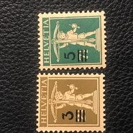 Schweiz 1930 Zumstein-Nr. 180-181 * Ungebraucht Mit Originalgummi Und Falz - Suisse