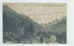 Cogne (Italie, Val D'Aosta) : Vue Panoramique Prise D'un Chemin En 1919 (animé) PF. - Italia