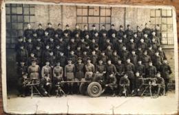 CARTE PHOTO, Régiment (3 ème Ou 5 ème) Avec Armes / Artillerie - Regiments