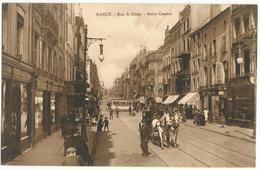 NANCY (54) – Rue Saint-Dizier. Point Central. Attelage. - Nancy
