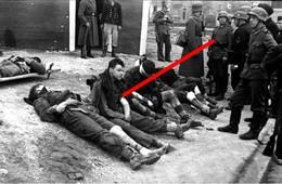 Photo  Guerre 39-45  Operation Chariot Saint Nazaire Prisonniers Allies - 1939-45
