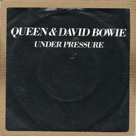 "7"" Single, Queen & David Bowie - Under Pressure - Rock"