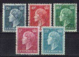 Luxemburg 1949 O - Usati