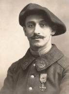 Militaire C.1914-1918 11e BCA Bataillon De Chasseurs Alpins Photo - Médaille Décoration Chasseur Alpin Clermont Ferrand - War, Military
